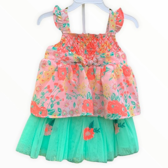2T Matching Skirt and Top set